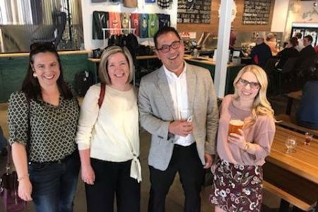 2019 Creatis (Be) Happy Hour at Unmapped Brewing event