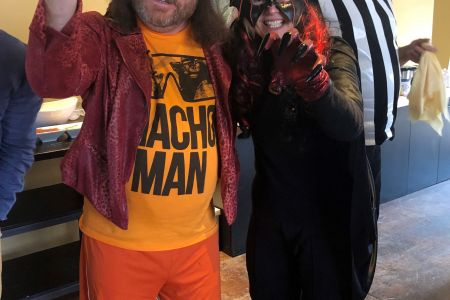 Macho Man And Witch